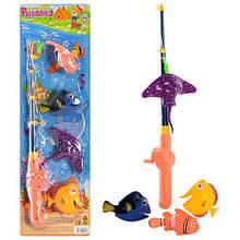 """Ігровий набір """"Магнітна рибалка"""" M 0042 , 4 рибки в наборі"""