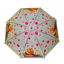Парасолька дитячий MK 3877-2 тростина (Pink)