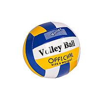 Мяч волейбольный BT-VB-0057 PVC, 4 вида (Сине-жёлтый)