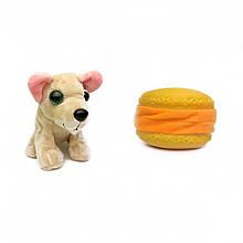 """Мягкая игрушка """"Cладкий щенок"""" 20021 в контейнере (Жёлтый пончик)"""
