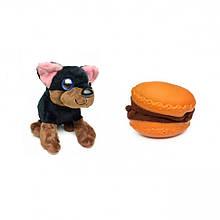 """М'яка іграшка """"Солодкий щеня"""" 20021 в контейнері (Шоколадний пончик)"""