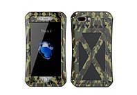 Чехол R-JUST противоударный X-MEN Green iPhone 7 8 Plus AL13198Plus, КОД: 134287