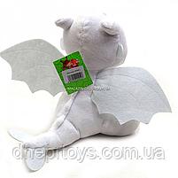 Мягкая игрушка KinderToys «Как приручить дракона?». Любимая игрушка Дракоша Дневная фурия (00688-2), фото 2