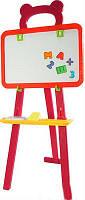 Детский мольберт для рисования ММ-501: творим и обучаемся (аксессуары, на треноге)