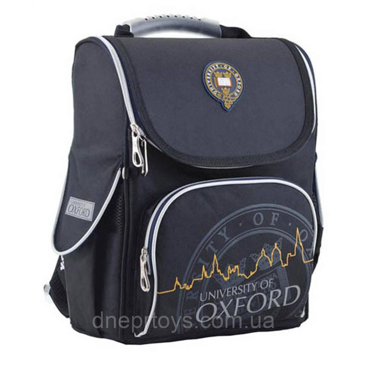 Рюкзак школьный каркасный YES H-11 Oxford black (553294)