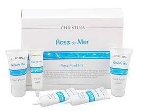 Набор для постпилингового ухода - Rose de Mer Post-Peel Kit