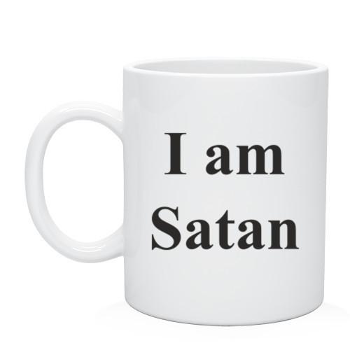 Кружка I am Satan