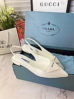 Женские туфли -лодочки PRADA