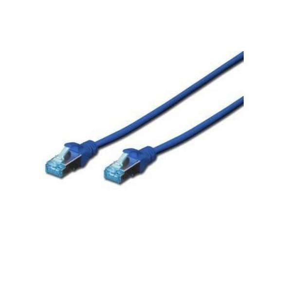 Патч-корд Digitus Cat.5е SF-UTP PVC 0,5 м. Синій