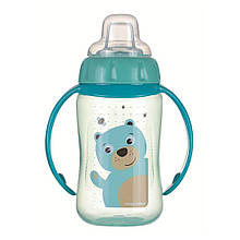 Кружка тренировочная с силиконовым носиком Cute Animals медвежонок 56 512tur, КОД: 2425715
