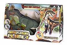 Динозавр Same Toy Dinosaur Planet серый со светом и звуком RS6134Ut, КОД: 2432049