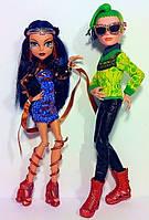 Набор кукол Клео де Нил и Дьюс Горгон, серия Бу Йорк  Cleo de Nile and Deuce Gorgon