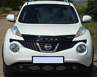 Nissan Juke Дефлектор капоту (VIP)