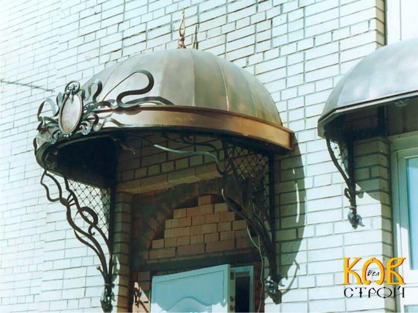 Строительство металлического навеса - OOO «Металл Комфорт Сервис»  в Одессе
