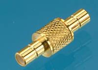 Переходник SMB-розетка SMB-розетка (SB-022 TGG) (SMBJ/SMBJ) (ВЧ-переходник)