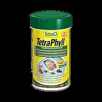 Корм для аквариумных рыб Tetra PHYLL 100 мл растительные хлопья для травоядных рыб