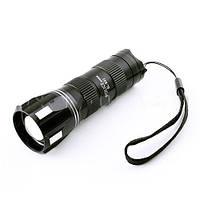 Фонарик led Police B92-LM, оптический фокус zoom, питание от батареек