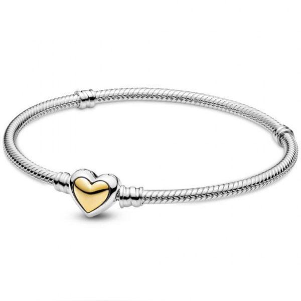 """Пандора Браслет Moments """"Золоте серце"""" (17 см) Pandora 599380C00 18"""