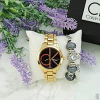 Calvin Klein 8302CZM Gold-Black