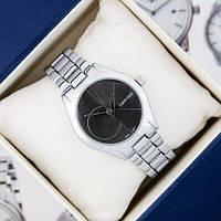 Calvin Klein 8302 Silver-Black Small