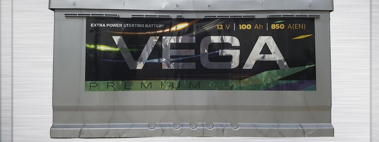 Акумулятор АКБ VEGA Premium 100Ah 850A
