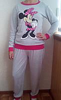 Пижама интерлок с длинным рукавом 48р,доставка по Украине