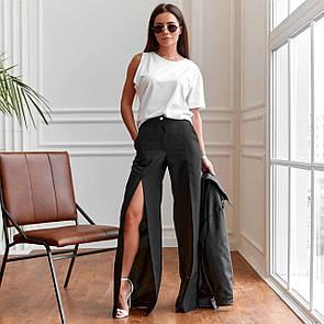 Трендовые женские брюки прямого кроя