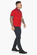 Червона чоловіча футболка поло зручна модель 5765 50 (L), фото 3