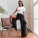 Трендовые женские брюки прямого кроя, фото 2