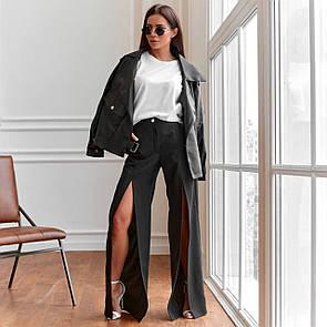 Трендові жіночі брюки прямого крою