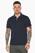 Оригінальна темно-синя футболка поло чоловіча модель 5324 50 (L), фото 3