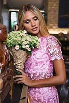 Ажурный женский юбочный костюм (2099 sk), фото 3