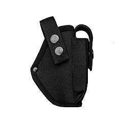 Кобура поясная для пистолета Форт 17 с чехлом для магазина  черная