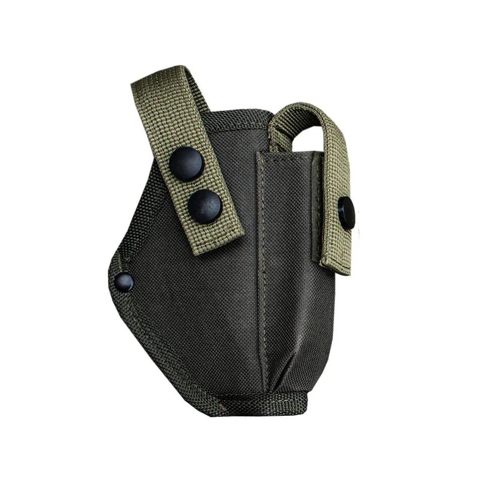 Кобура поясная для пистолета Форт 17 с чехлом для магазина  олива