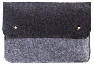 Чехол-конверт Gmakin для Macbook Pro 13 New черно-серый GM0513New, КОД: 196796