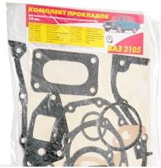 Комплект прокладок двигателя малый ВАЗ 2104 2105 2107