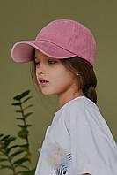 Бейсболка джинс розовая Mililook
