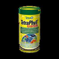 Корм для аквариумных рыб Tetra PHYLL Granules 250 мл растительные гранулы для всех видов травоядных рыб