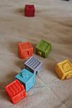 Кубики тактильные 12 шт в сумочке, фото 2