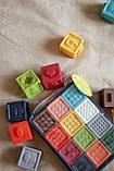 Кубики тактильные 12 шт в сумочке, фото 4