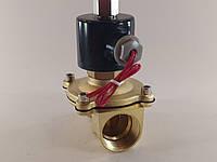 """Електромагнітний клапан 1"""" 12В нормально-відкритий, фото 1"""