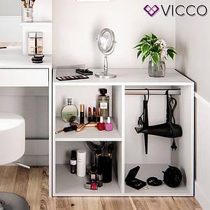 Шафка для туалетного столика 80х65, Vicco Isabelle біла