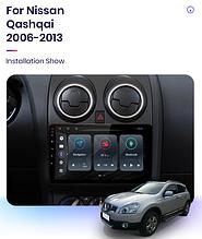 Junsun 4G Android магнітола для Nissan Qashqai 1 2006-2013 J10 wifi
