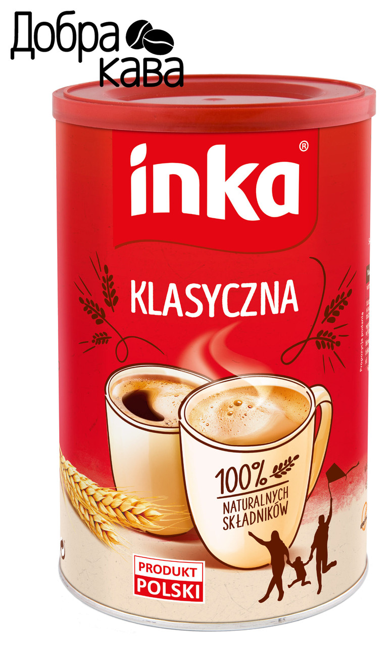 Inka Klasyczna Классическая 200 г кофейный напиток из ячменя растворимый без кофеина