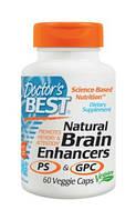 «Натуральный Усилитель Мозговой Активности PS и GPC», 60 капсул. Сделано в США