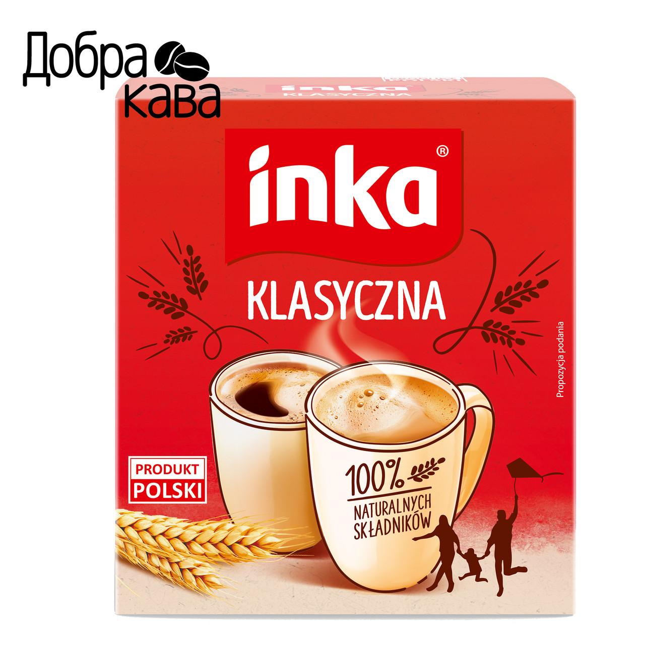 Inka Klasyczna Класична 150г ячмінний кава розчинна без кофеїну