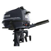 Лодочный мотор Yamaha, 6 лс, 4 тактный, F6 CMHS - подвесной мотор для яхт и рыбацких лодок, фото 2