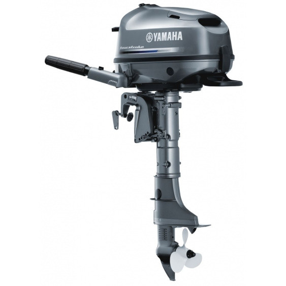 Лодочный мотор Yamaha, 6 лс, 4 тактный, F6 CMHS - подвесной мотор для яхт и рыбацких лодок