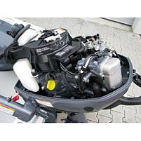 Лодочный мотор Yamaha, 6 лс, 4 тактный, F6 CMHS - подвесной мотор для яхт и рыбацких лодок, фото 4