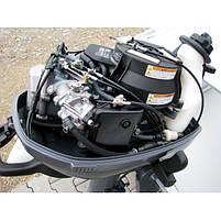 Лодочный мотор Yamaha, 6 лс, 4 тактный, F6 CMHS - подвесной мотор для яхт и рыбацких лодок, фото 5